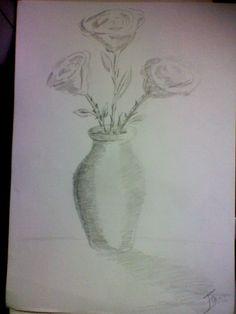 otro dibujo mio de flores NO 2