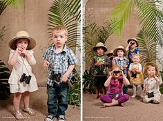 Ah-Tissue: Safari Party Photo Booth Prop Ideas
