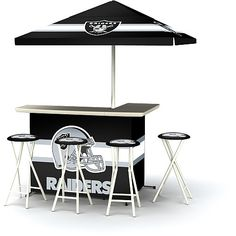NFL Oakland Raiders Portable Bar - NFLShop.com
