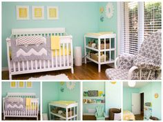 These colors may be perfect for a gender neutral nursery.... Or do I want just creams, or black and white...???