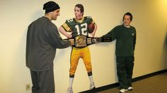 For the past 20 years, locker room attendant Andy Gruber has brightened the halls at Lambeau Field and befriended some of the Packers' biggest stars.