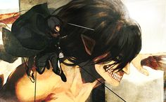 Attack on Titan- Levi and Eren // AoT