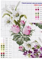 Gallery.ru / Фото #6 - Без названия - irisha-ira Cross Stitch Kitchen, Cross Stitch Love, Cross Stitch Flowers, Cross Stitch Charts, Cross Stitch Patterns, Cross Stitching, Cross Stitch Embroidery, Needlework, Knitting
