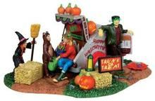 13898 - Trunk or Treat Trailer - Lemax Spooky Town Halloween Village Accessories