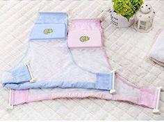 BLUESTAR Baby Newborn Baby Badesitz net, Baby Badewanneneinsatz Sling Hängematte Net