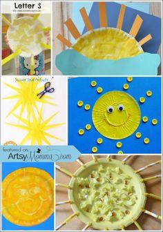 10 Ways to Celebrate Summer with Kids Sun Crafts