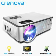 Projector Android Support Videos Via HDMI Home Cinema Movie Video Projector N Projector Price, Cinema Projector, Outdoor Projector, Projector Reviews, Best Projector, Mini Projektor, Led Projektor, Android Wifi