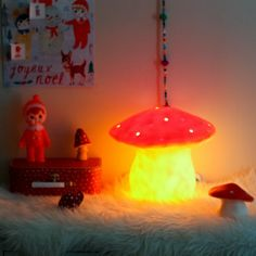 Sunday in color: Lapin and me advent calendar #heico #mushroom