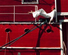 From Sam's 1977 Pentax Calendar shoot in Scandinavia.