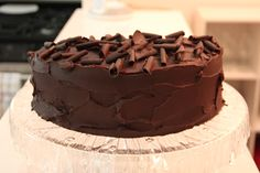 Love the Manly Housekeeper. Here is a Guiness Chocolate Cake...