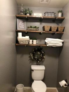 Farmhouse style is simple, inexpensive, adorable and adored by more and more people for its natural warm and earthy colors in their interior designs It can create more rustic chic and warm to your decor and designs Today we are… Continue Reading - d Rustic Bathroom Designs, Rustic Bathrooms, Small Bathroom, Bathroom Ideas, Bathroom Vanities, Bathroom Cabinets, Industrial Bathroom, Master Bathroom, Cream Bathroom