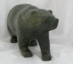 bear soapstone carving - Google Search