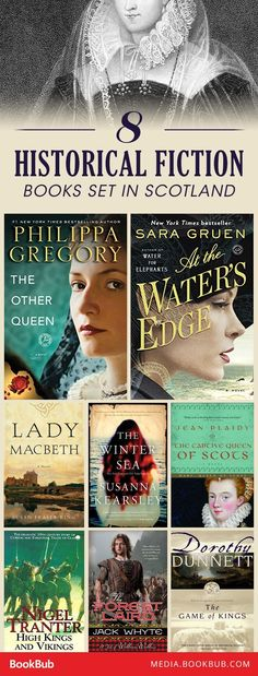 8 of the best historical fiction books set in Scotland.