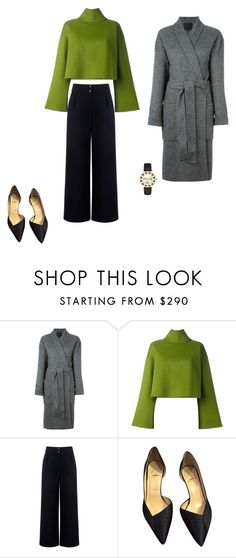 """Untitled #3728"" by explorer-14576312872 ❤ liked on Polyvore featuring Alexander Wang, Bally, Être Cécile, Christian Louboutin and Kate Spade"