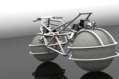 Giving more stability and maneuverability to the vehicle at top speeds too, this innovative Spherical Drive System is applicable to fully operational electric two wheeled vehicle.