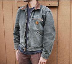Carhartt Shirt Jacket, Carhartt Work Shirts, Carhartt Detroit Jacket, Carhartt Workwear, Jacket Jeans, Bon Look, Work Jackets, Couple Shirts, Outfit