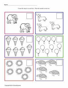 FREE worksheets, create your own worksheets, games. Preschool Homework, Preschool Assessment, Kindergarten Math Worksheets, Preschool Education, Kindergarten Fun, Kids Learning Activities, Preschool Printables, Homeschool Math, Teaching Math