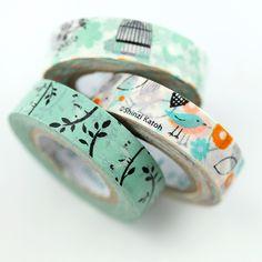 Image of Pretty Bird Washi Tape