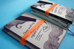 beautiful handmade book by Stina Johansson, part of her graphic design portfolio