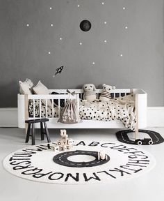 """Georgie Ludlow's Instagram post: """"All our @lorenacanalsrugs are machine washable!  And there are lots of designs, colours & sizes to choose from. Perfect for nursery's,…"""" Neutral Nurseries, Nursery Neutral, Toddler Bed, Kids Rugs, Colours, Simple, Instagram Posts, Furniture, Design"""