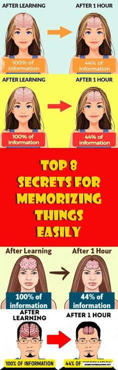 TOP 8 SECRETS FOR MEMORIZING THINGS EASILY