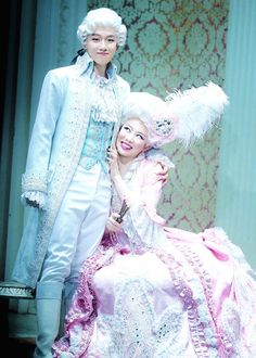 Baekhyun in 'Singing in The Rain' musical... omg i can't, i can't with this pic hahahah xD #exo