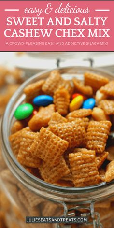 Baked Chex Mix Recipe, Sweet And Salty Snack Mix Recipe, Recipe For Chex Mix Snack, Sweet Chex Party Mix Recipe, Caramel Chex Mix, Snack Mix Recipes, Snack Mixes, Nut Recipes, Bakken