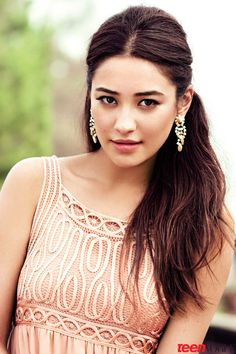 Pretty Little Liars Star Shay Mitchell in Teen Vogue