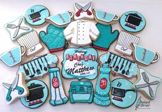 Retro Chef Cookies | Cookie Connection