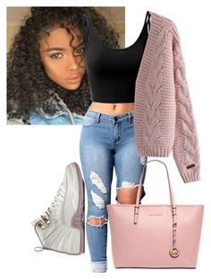 """""""Outfit #70"""" by purple4048 on Polyvore featuring Doublju, Chicwish and Michael Kors"""