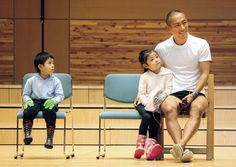 「ABMORI」開会式で和やかな表情を見せる海老蔵、麗禾ちゃん(中)、勸玄くん - Yahoo!ニュース(スポーツ報知)