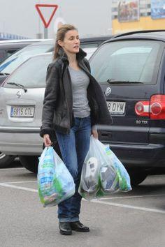 Doña Letizia de compras