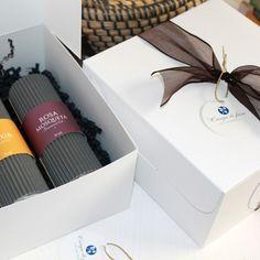 Caja de regalo con 3 aceites faciales de Campo di fiore