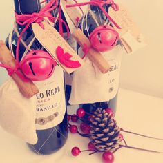 DIY mulled wine kits for Christmas presents