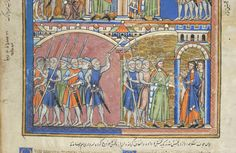 Picture Bible, MS M.638 fol. 43r - Images from Medieval and Renaissance Manuscripts - The Morgan Library & Museum