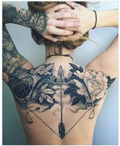 tattoos on black women - tattoos for women ; tattoos for women small ; tattoos for moms with kids ; tattoos for guys ; tattoos for women meaningful ; tattoos with meaning ; tattoos for daughters ; tattoos on black women White Flower Tattoos, Black And White Flower Tattoo, Tattoo Black, Tattoo Floral, White Arrow Tattoos, White Girl Tattoo, Black Sleeve Tattoo, Black White Tattoos, Butterfly Tattoos