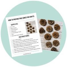 How to Prepare Pine Cones for Crafts   Clean Pine Cones for Crafts Christmas Pine Cones, Christmas Tree Wreath, Rustic Christmas, Christmas Tree Decorations, Primitive Christmas, Christmas Christmas, Christmas Ornament, Holiday Decor, Pine Cone Art