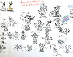The iknowit.com team has been pretty busy lately! What do you think of the latest sketches for our animated robot character? See him in action when you try out the math practice lessons on iknowit.com!