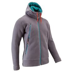 Bergsport_BekleidungHerren - Fleece-Jacke Forclaz 600 Hood Herren