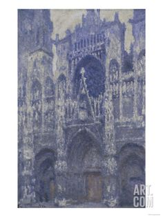 Rouen Cathedral, c.1892 Giclee Print by Claude Monet at Art.com