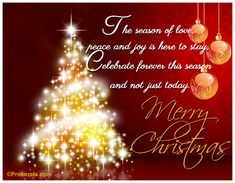 Merry Christmas And Happy New Year To All My Facebook Friends And ...