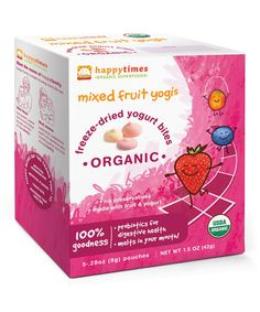 This 5-Ct. Mixed Fruit Yogis - Set of Six is perfect! #zulilyfinds