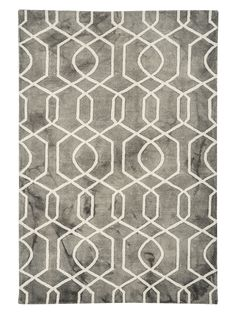 Crafted from a blend of wool and cotton for a silky feel underfoot, our stylish rug features a warm grey marbled effect base and is finished with a geometric pattern in soft white. Bathroom Towels, Bath Towels, Cox And Cox, Textiles, Bath Towel Sets, Warm Grey, New Furniture, Soft Furnishings, Home Textile