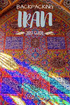 Backpacking Iran 2017