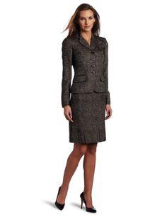 Anne Klein Women's Inverted Pleat Skirt Suit $210.00