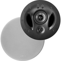 Polk Audio 900-LS Vanishing 3-Way In-Ceiling Speaker Mount your woofer behind your main driver array, and suddenly you're able to extend a speaker's dynamic range into previously unexplored areas! Especially for a built-in in-ceiling speaker. The 900-LS delivers surpisingly broad coverage and bold, full-range audio performance. Big enough to use as stealth mains, stealthy enough to use as hidden surrounds or alternate-zone speakers. See more at safeandsoundhq.com