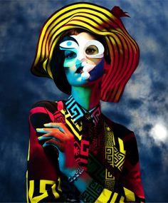 TENDENCIA #CUBISMO en esta editorial de moda inspirada en la obra de Picasso #coolhunting #moda #arte