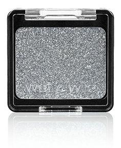 Wet 'n' Wild, Ombretto compatto glitterato Color Icon Single Spiked, 2 g, Grigio