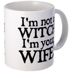 Witch Wife Princess Bride Mug