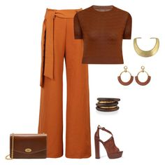 """""""outfit 4404"""" by natalyag ❤ liked on Polyvore featuring WithChic, Elvi, Aquazzura, Mulberry, NEST Jewelry and Kenneth Jay Lane"""